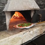 ma pizza au feu de bois