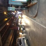 Right outside the Maxx Hotel is Bangkok's busiest road plus a multi carriage flyover