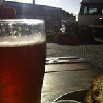 cold beer on a sunny day, Jaffa Port