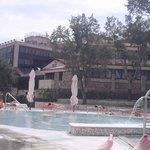 vista dalla piscina esterna
