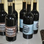 Bosco del Fracasso's own balsamic vinegar.