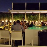 Excellent Rooftop - dinning area