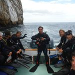 My first dive fully certified at Kicker Rock