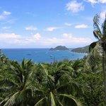Blick auf die Sairee Bucht