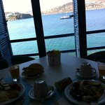 View from breakfast dinning room