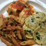 Trio pasta special of the day