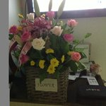 Welcome flower in the room