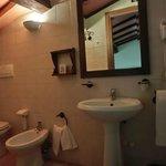 sala da bagno della stanza PIPPO