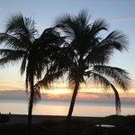 Beautiful sunrise views from the resort.