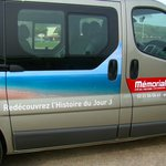 Great minivan tour of D Day Beaches