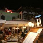 "Restaurant seen from the ""seaside"""
