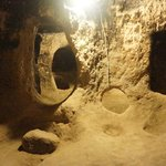 Underground rooms and passages