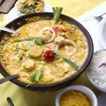 Shrimp Moqueca with Plantain