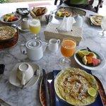 PDJ sur terrasse Rambutan