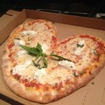 Pizza for Valentine's Day