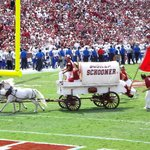 Sooner Schooner After An OU Touchdown