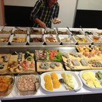 This just part of the buffet!