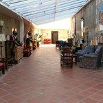 Parador Ciudad Rodrigo Hall Lounge