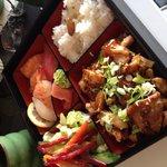 Sushi, Tempura Bento