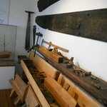 old ship building tools in Alesund Museum