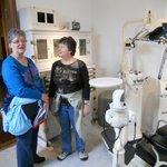 old dentist office exhibit in Alesund Museum