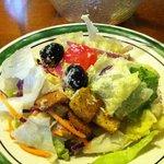 Garden fresh salad - deliciosa!!!