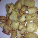 Roasted potatoes really nice!