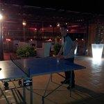 ping pong at night :)