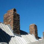 Interesting chimney construction