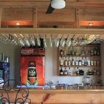 Our restaurant features a fully stocked bar