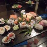 il sushi mix da 22, tantissimi gusti su di un solo piatto!!