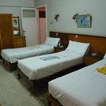 Triple Room 207, with en suite bathroom