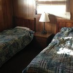 Room with the two twin beds