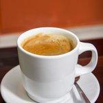 Delicious coffee at Restaurant La 88