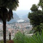 zicht op meer van Lugano