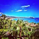 Medano Beach from the balcony