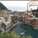 vernazza from our hike