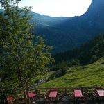 View from Alpiglen, of Wetterhorn and Grosse Scheidegg