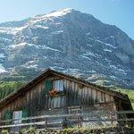 Eigernordwand (North Face of Eiger) from Alpiglen