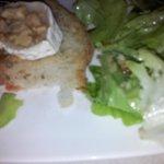 salade de crottin chaud !!!!!!!!!!!!!!!