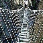 Ponte Tibetano a San Rocco