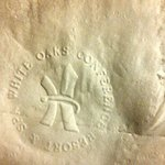 Attention to detail! Even tip of toilet paper is carefully embossed with their logo!