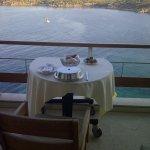 Breakfast on my balcony