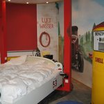 One of the themed rooms