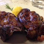 grilled Cinghiale