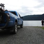 Nice campground – Sawmill Point Recreation Site at the North End of Dease Lake.