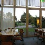 コンフォート ホテル リヒテンベルグ・・・レストランからの風景