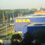コンフォート ホテル リヒテンベルグ ・・・IKEAは部屋の向かい