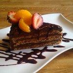 Gluten free Chocolate Hazlenut torte