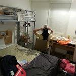 Wide bed & loft (aka bunk bed concept)
